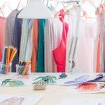Choosing a Backdrop for Fashion Illustration