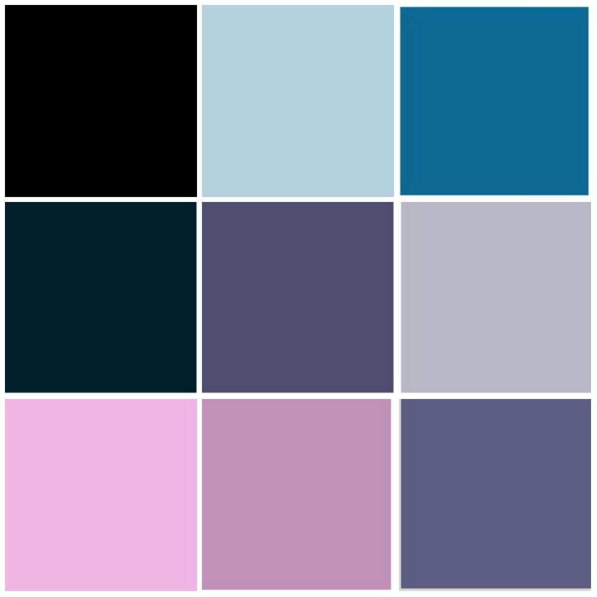 fashion color palette