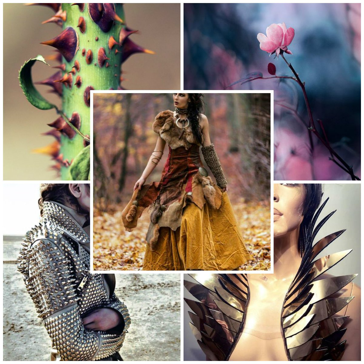 fashion design mood board