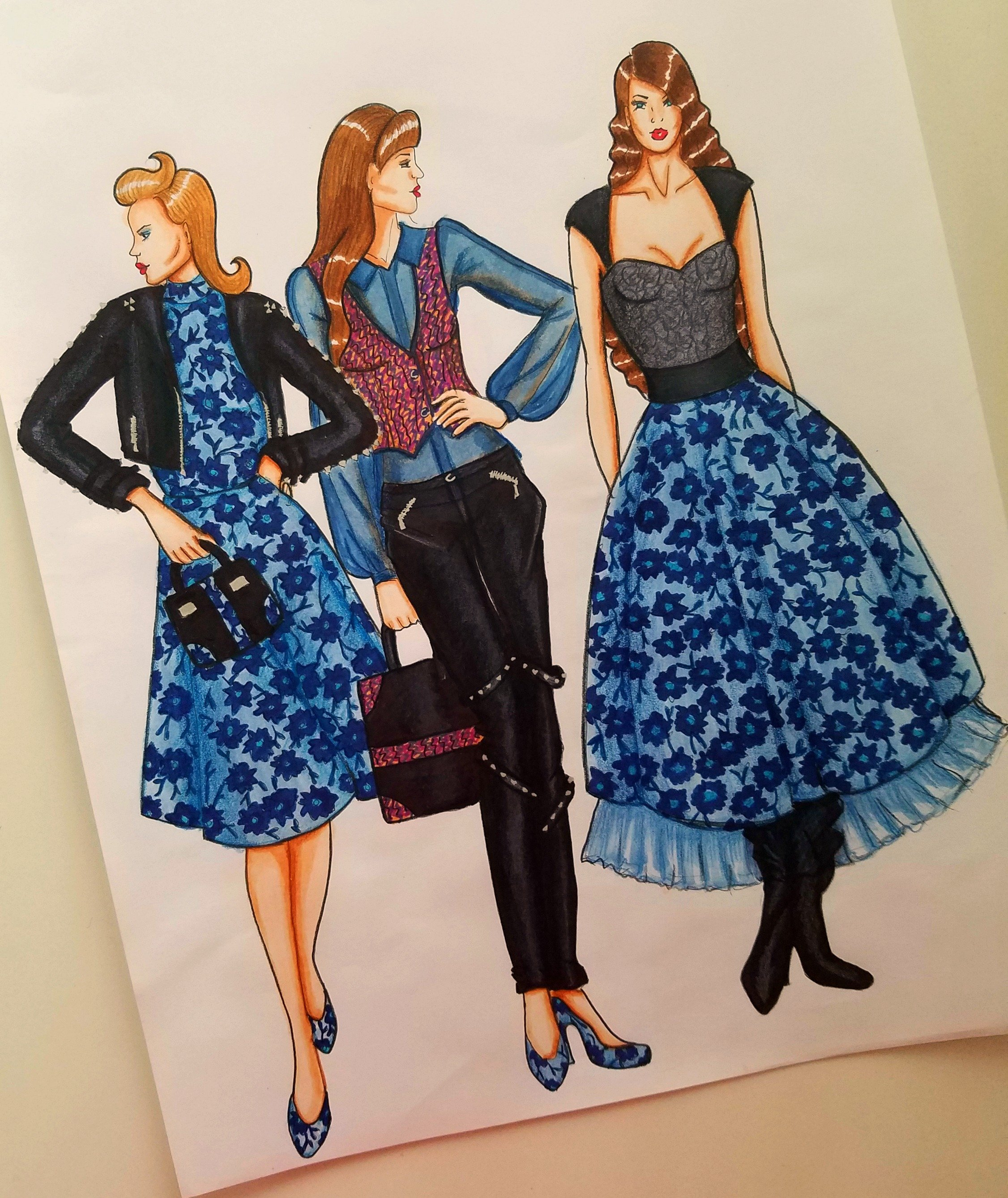 Creating A Fashion Moodboard Fashionista Sketch