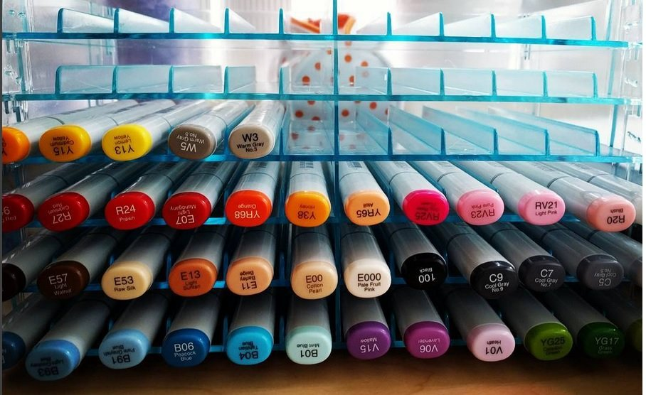 copic markers for fashion illustration