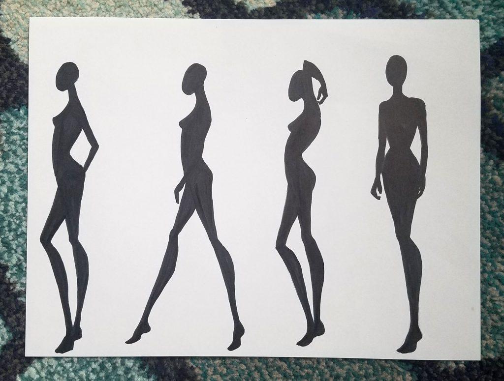 make your own fashion figure templates fashionista sketch