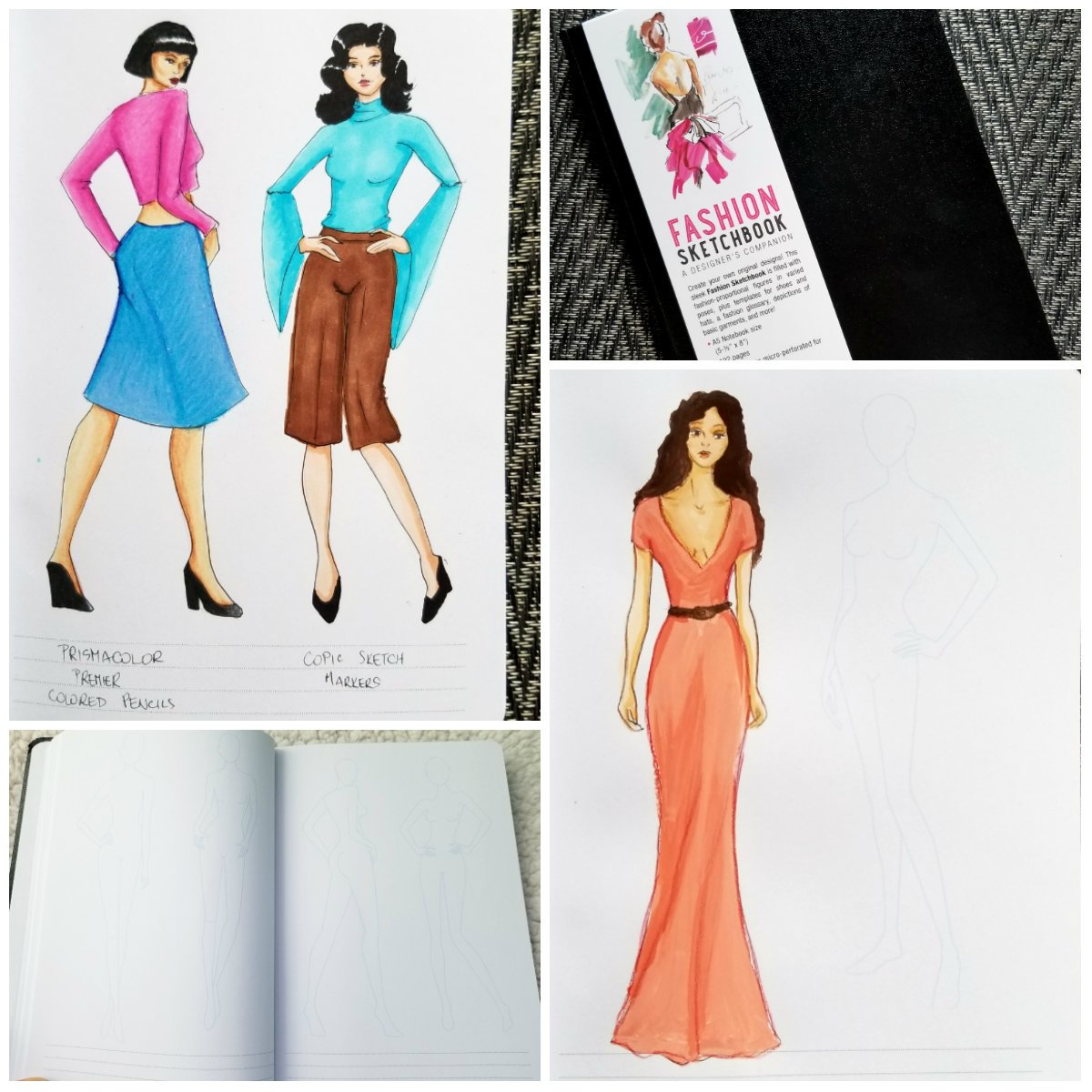 Review Of Fashion Sketchbook A Designer S Companion