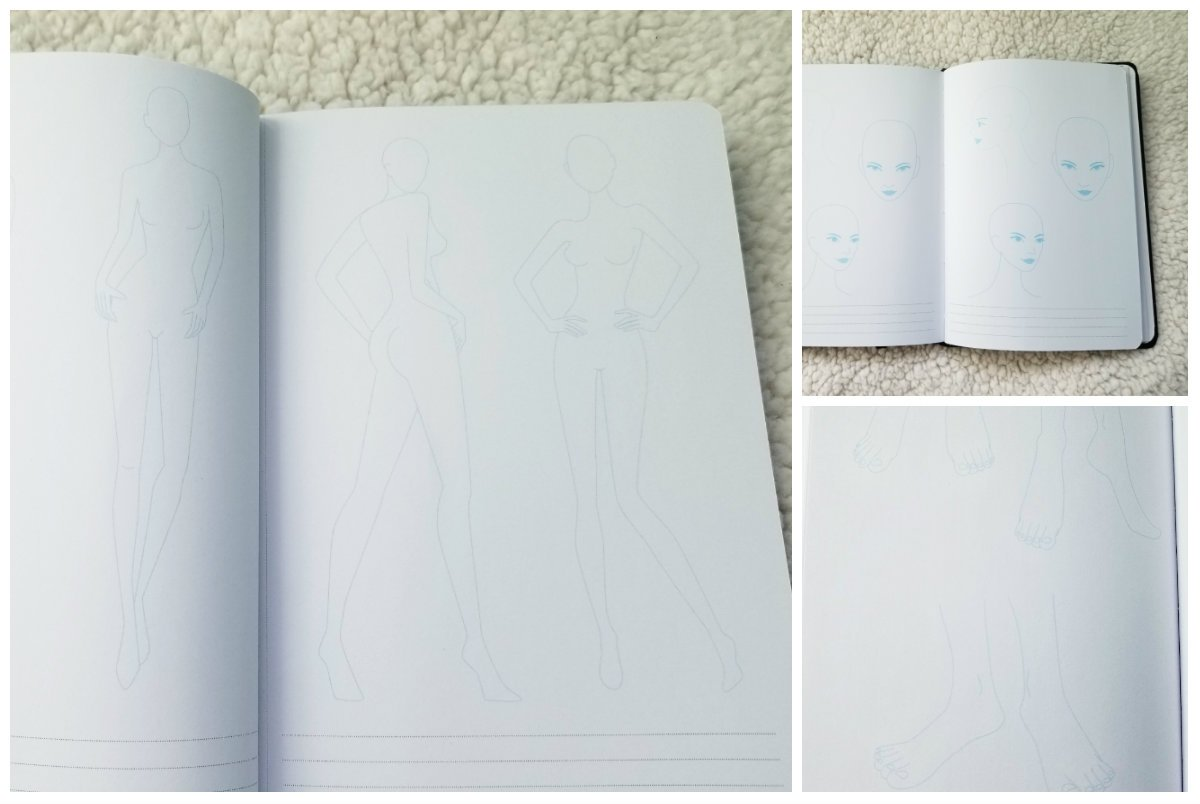 review of fashion sketchbook