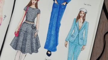 How to Illustrate Fashion Week Runway Looks