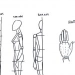how to draw hands in fashion illustration