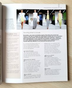 creating a successful fashion collection book review
